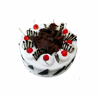1 Kg Fresh Cream Black Forest Cake
